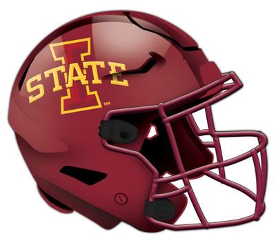 "Iowa State Cyclones Authentic Helmet Cutout 24"" Wall Art | FAN CREATIONS |  C0987-Iowa State"