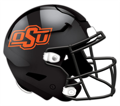 "Oklahoma State Cowboys Authentic Helmet Cutout 24"" Wall Art   FAN CREATIONS    C0987-Oklahoma State"