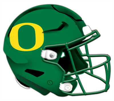 "Oregon Ducks Authentic Helmet Cutout 24"" Wall Art | FAN CREATIONS |  C0987-Oregon"