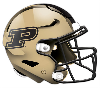 "Purdue Boilermakers Authentic Helmet Cutout 24"" Wall Art 