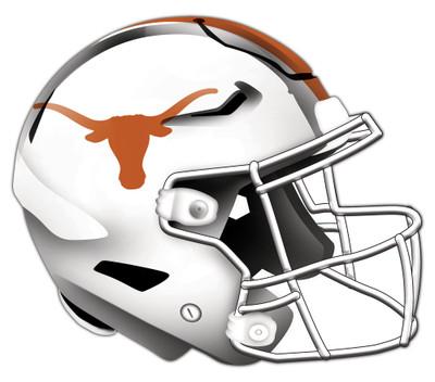 "Texas Longhorns Authentic Helmet Cutout 24"" Wall Art   FAN CREATIONS    C0987-Texas"