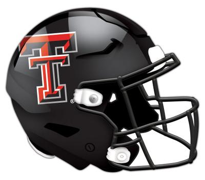 "Texas Tech Red Raiders Authentic Helmet Cutout 24"" Wall Art | FAN CREATIONS |  C0987-Texas Tech"
