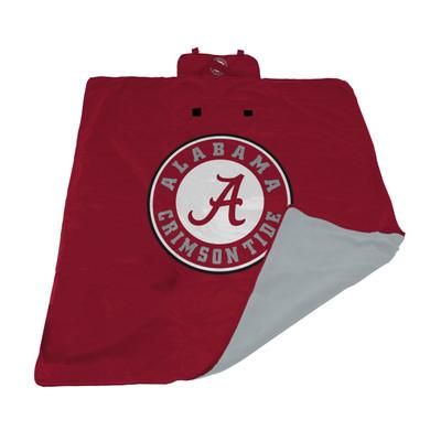 Alabama Crimson Tide All Weather Blanket | Logo Chair | 102-731