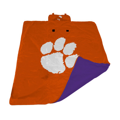 Clemson Tigers All Weather Outdoor Blanket    LOGO BRAND   123-731