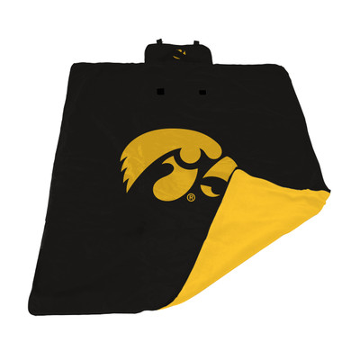 Iowa Hawkeyes All Weather Outdoor Blanket  | LOGO BRAND | 155-731