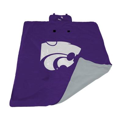Kansas State Wildcats All Weather Outdoor Blanket  | LOGO BRAND | 158-731