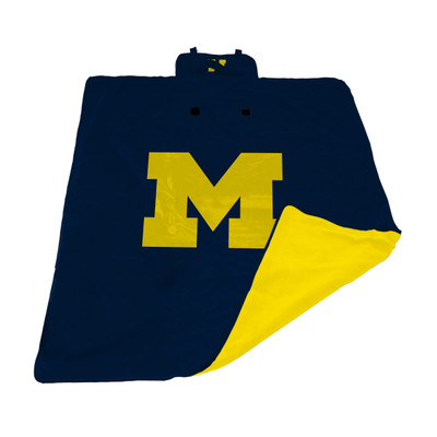 Michigan Wolverines All Weather Outdoor Blanket    LOGO BRAND   171-731