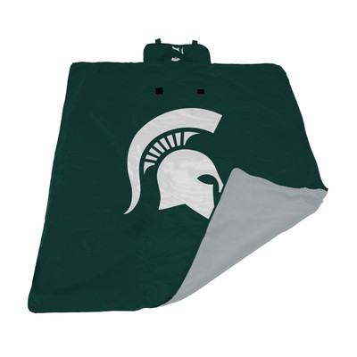 Michigan State Spartans All Weather Outdoor Blanket  | LOGO BRAND | 172-731