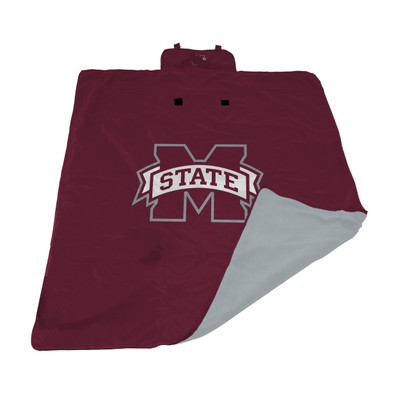Mississippi State Bulldogs All Weather Outdoor Blanket  | LOGO BRAND | 177-731
