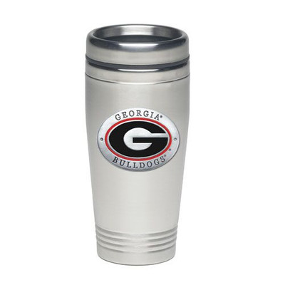 Georgia Bulldogs Thermal Mug | Heritage Pewter | TD10005ER