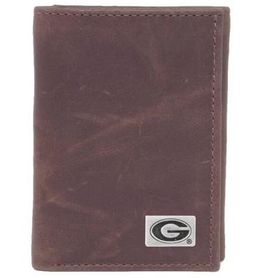 Georgia Bulldogs Tri-Fold Wallet | Eagles Wings | 2512