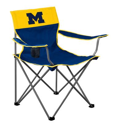 Michigan Wolverines  Logo Chair 171-11