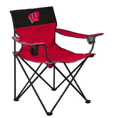 Wisconsin Badgers  Logo Chair 244-11