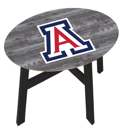Arizona Wildcats Distressed Wood Side Table |FAN CREATIONS | C0823-Arizona