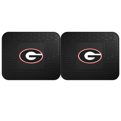 Georgia Bulldogs Utility Car Mats Set of Two | Fanmats | 12280