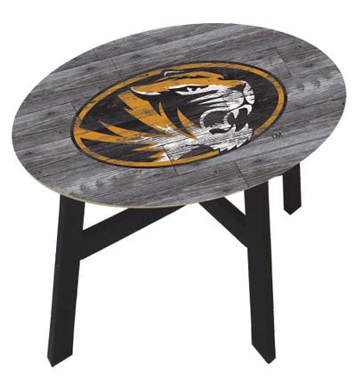Missouri Tigers Distressed Wood Side Table |FAN CREATIONS | C0823-Missouri