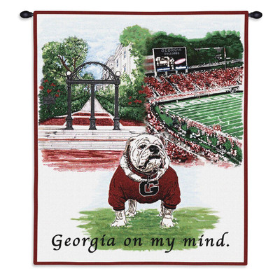 Georgia Bulldogs Tapestry Wall Hanging | Pure Country | 4644-wh