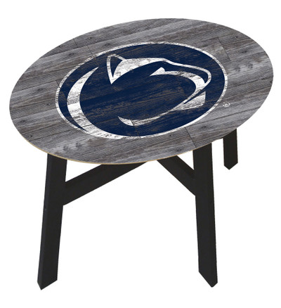 Penn State Nittany Lions Distressed Wood Side Table |FAN CREATIONS | C0823-Penn State