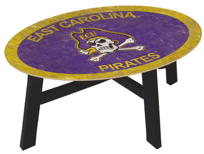 East Carolina Pirates Team Color Coffee Table | FAN CREATIONS | C0813-ECU