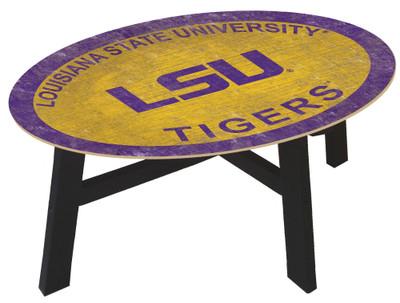 LSU Tigers Team Color Coffee Table |FAN CREATIONS | C0813-LSU