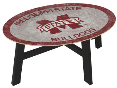Mississippi State Bulldogs Team Color Coffee Table |FAN CREATIONS | C0813-Mississippi State