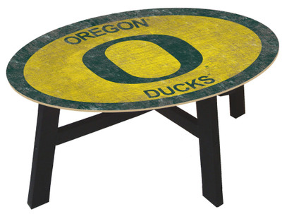 Oregon Ducks Team Color Coffee Table |FAN CREATIONS | C0813-Oregon