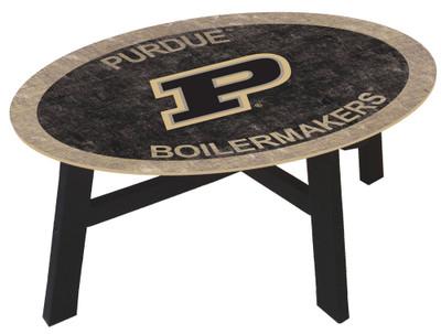Purdue Boilermakers Team Color Coffee Table |FAN CREATIONS | C0813-Purdue