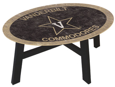 Vanderbilt Commodores Team Color Coffee Table |FAN CREATIONS | C0813-Vanderbilt
