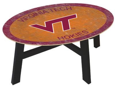 Virginia Tech Hokies Team Color Coffee Table |FAN CREATIONS | C0813-Virginia Tech