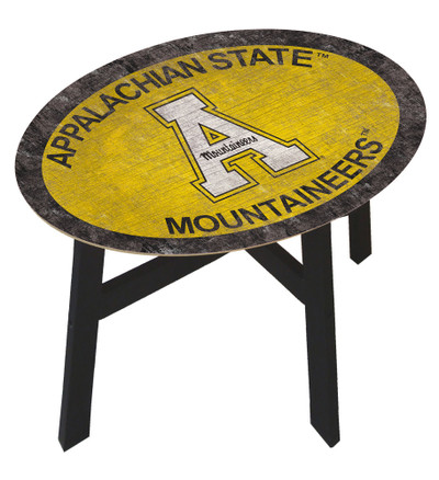 Appalachian State Mountaineers Team Color Side Table |FAN CREATIONS | C0825-Appalachian State