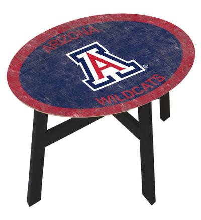 Arizona Wildcats Team Color Side Table |FAN CREATIONS | C0825-Arizona
