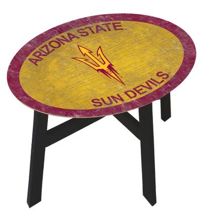 Arizona State Sun Devils Team Color Side Table  FAN CREATIONS   C0825-Arizona State