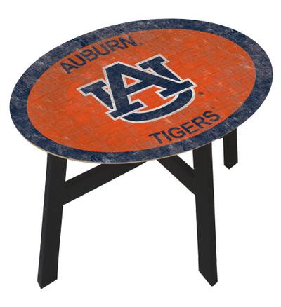 Auburn Tigers Team Color Side Table |FAN CREATIONS | C0825-Auburn