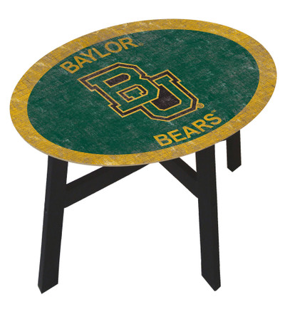 Baylor Bears Team Color Side Table |FAN CREATIONS | C0825-Baylor