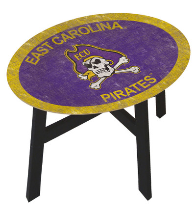 East Carolina Pirates Team Color Side Table | fan creations | C0825-ECU