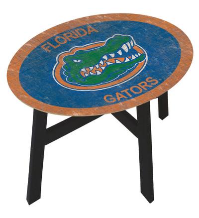 Florida Gators Team Color Side Table |FAN CREATIONS | C0825-Florida