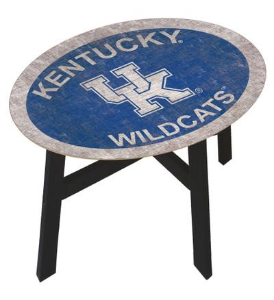 Kentucky Wildcats Team Color Side Table |FAN CREATIONS | C0825-Kentucky