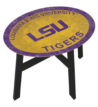 LSU Tigers Team Color Side Table |FAN CREATIONS | C0825-LSU