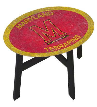 Maryland Terrapins Team Color Side Table |FAN CREATIONS | C0825-Maryland