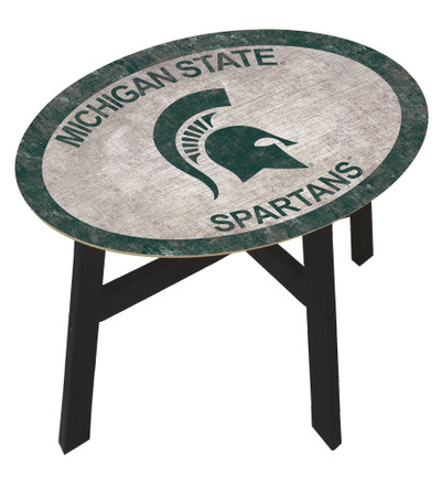 Michigan State Spartans Team Color Side Table |FAN CREATIONS | C0825-Michigan State