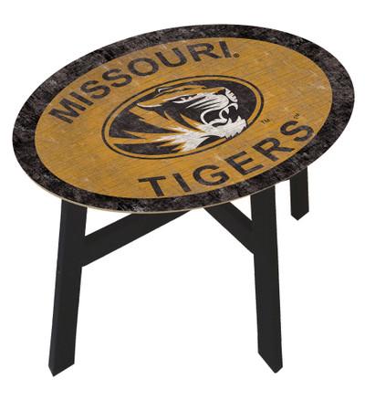 Missouri Tigers Team Color Side Table  FAN CREATIONS   C0825-Missouri