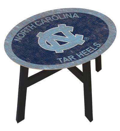 UNC Tar Heels Team Color Side Table  FAN CREATIONS   C0825-North Carolina