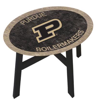 Purdue Boilermakers Team Color Side Table  FAN CREATIONS   C0825-Purdue