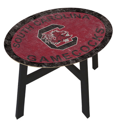 South Carolina Gamecocks Team Color Side Table |FAN CREATIONS | C0825-South Carolina