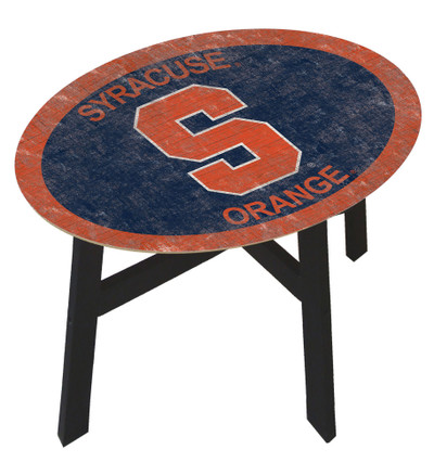 Syracuse Orange Team Color Side Table | FAN CREATIONS | C0825-SYRACUSE