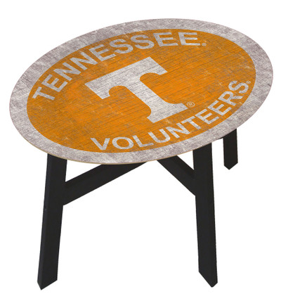 Tennessee Volunteers Team Color Side Table  FAN CREATIONS   C0825-Tennessee