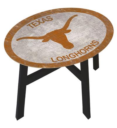 Texas Longhorns Team Color Side Table  FAN CREATIONS   C0825-Texas