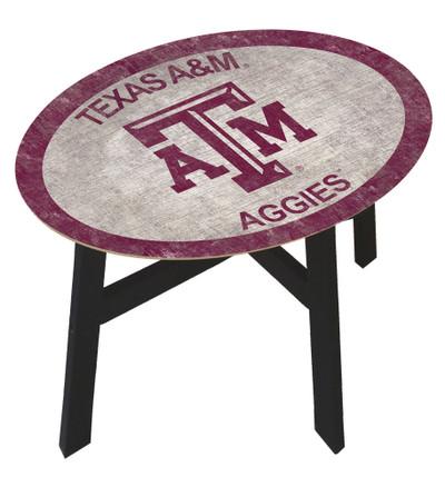Texas A&M Aggies Team Color Side Table |FAN CREATIONS | C0825-Texas A&M