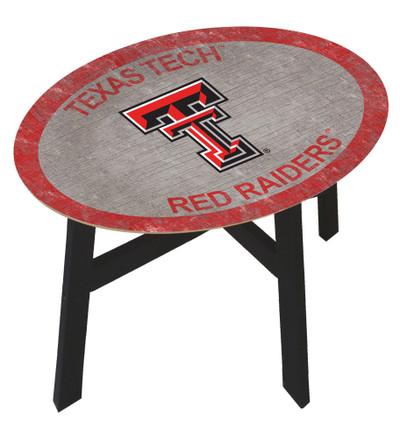 Texas Tech Red Raiders Team Color Side Table |FAN CREATIONS | C0825-Texas Tech