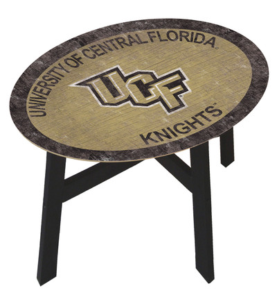 UCF Knights Team Color Side Table |FAN CREATIONS | C0825-UCF